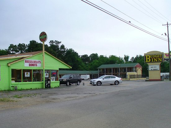 Russellville, AL: But there are donuts, too!