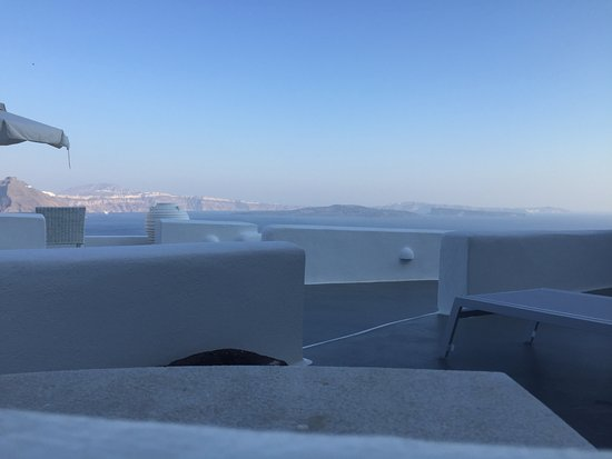 Canaves Oia Hotel: View from my private jacuzzi