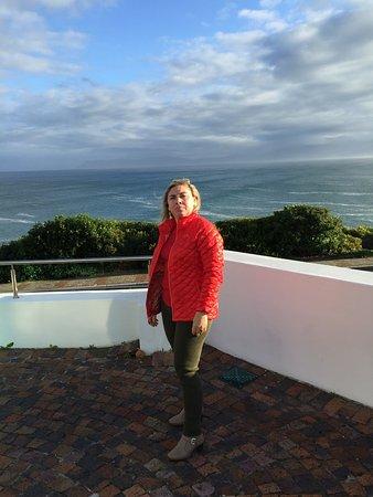 De Kelders, Südafrika: vista da sacada da suite/cobertura