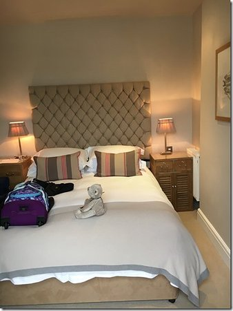The Old Quay House Hotel Small Room And Onlly A Double Bed Which Was Very