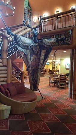 Hotel Lobby area of the Nativo Lodge Albuquerque