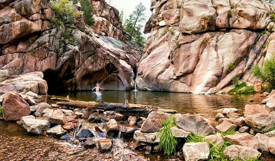 Guffey, โคโลราโด: Paradise Cove Swimming Hole