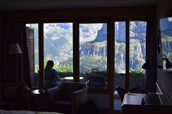 Hotel Eiger: great verandah