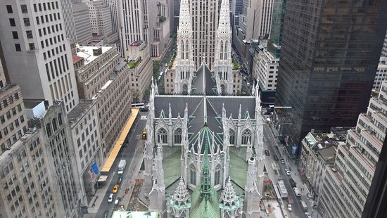 View from our Skyline view room - Picture of The Towers at Lotte New York Palace, New York City ...