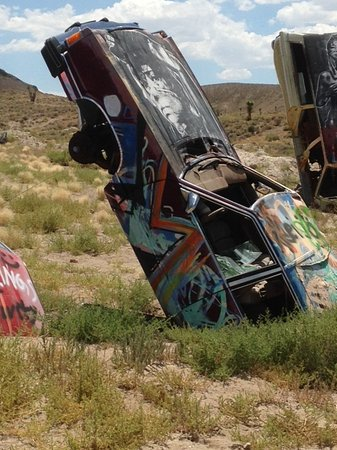 Goldfield, NV: Oops, I went too fast!
