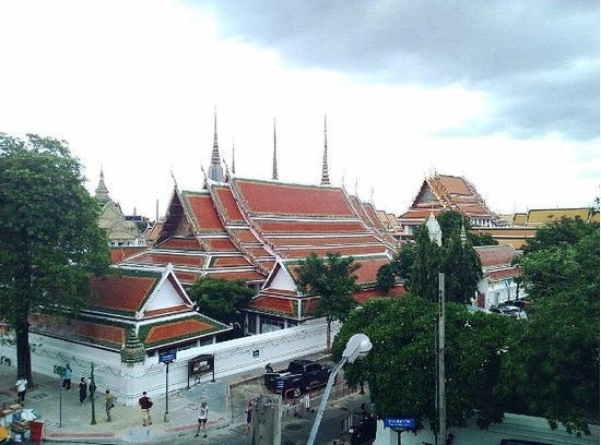 Chetuphon Gate : View from my room, i love it !!