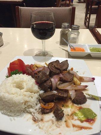 Dinner at Haiti restaurant