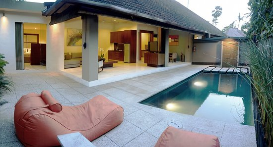 The Ahimsa Estate: pool area