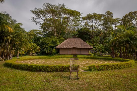 Lakaz Chamarel Exclusive Lodge: Relaxing area