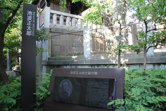 Shotaro Ikenami Birthplace