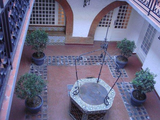 Royal Wilson: the patio