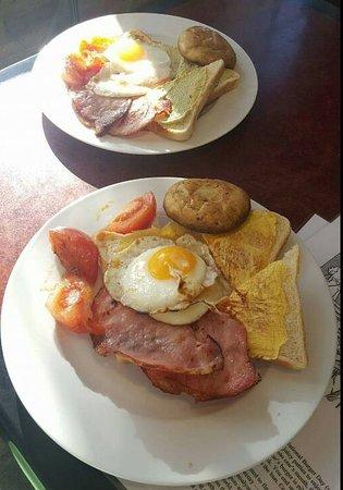 Evandale, أستراليا: Delicious Big Breakfast