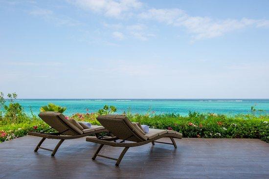 Villa terrace at Zawadi Hotel Zanzibar