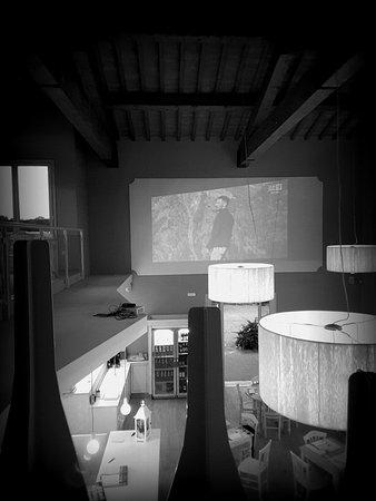 Castelfiorentino, Italy: Il locale visto dalla parte alta