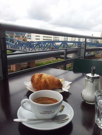 Croissant E Doppio Espresso Bild Von Hermann Freiburg Tripadvisor