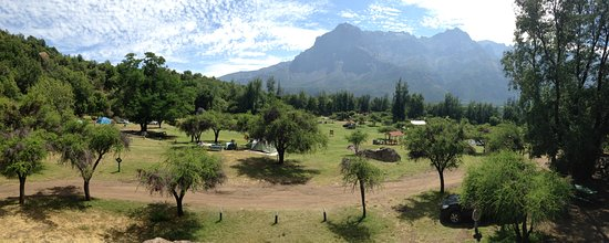 Rancagua, Chile: vista superior del camping