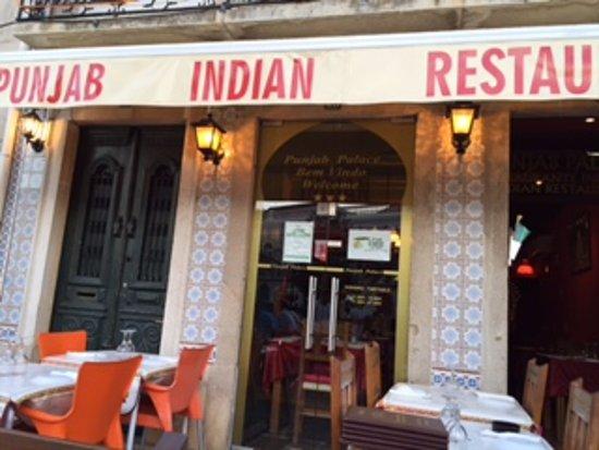 Punjab Palace Restaurant : Square side of the restaurant