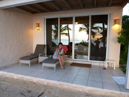 Galley Bay Resort: Patio
