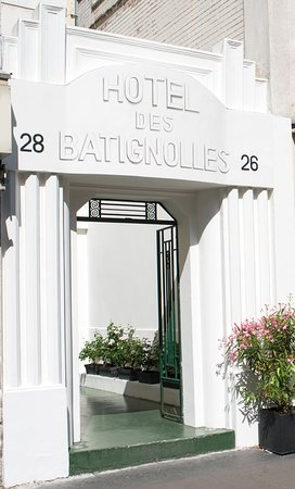 Hotel des Batignolles: Façade