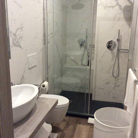 Hotel Virgilio: Guest toilet