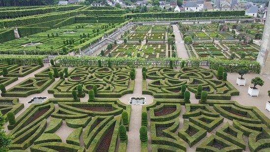 Jardin de villandry picture of chateau de villandry for Jardin villandry