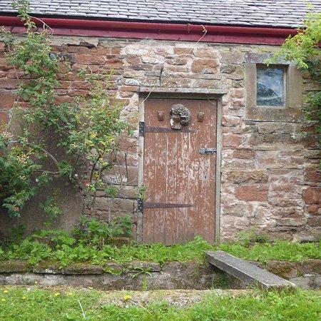 Tea Room at The Watermill: Back door Little Salkeld Watermill