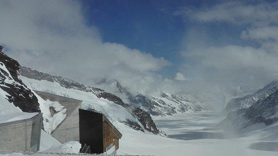 Aletsch Glacier: Amazing view