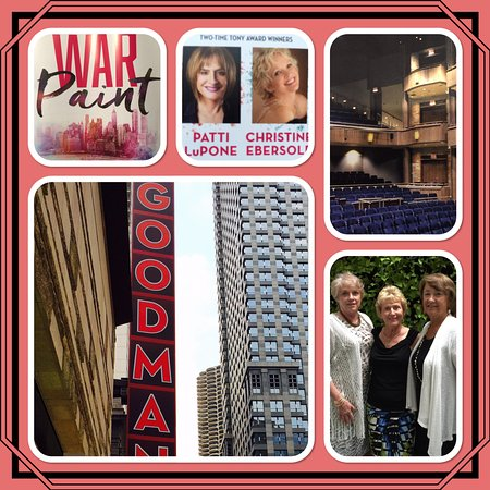 Goodman Theatre: Enjoyable show about the rise of the cosmetics industry......