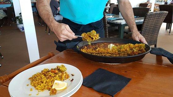 Restaurant Don Tomas: Paellande señores