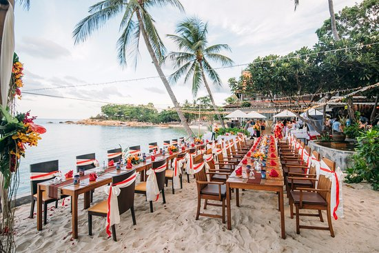 Samui Paradise Chaweng Beach Resort Spa Reception Set Up This Is The Same