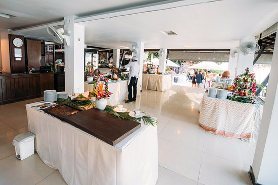 Thai Buffet For The Wedding Reception Picture Of Samui Paradise
