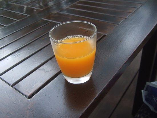 Hyatt Regency Hua Hin: Tasty fresh Orange Juice at the Regency Club Lounge