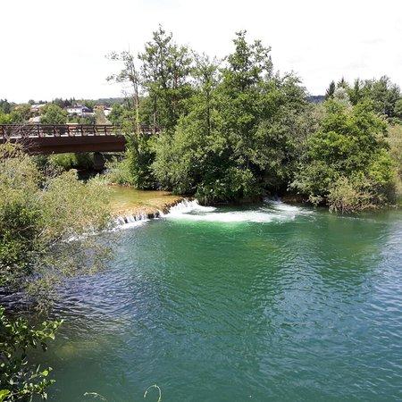 Duga Resa, Хорватия: Fijne camping met mooi zwemwater