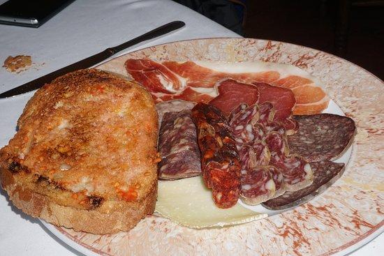 Restaurant Can Jepet: Embutidos