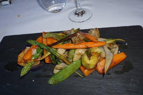 Restaurant Can Jepet: Verduras