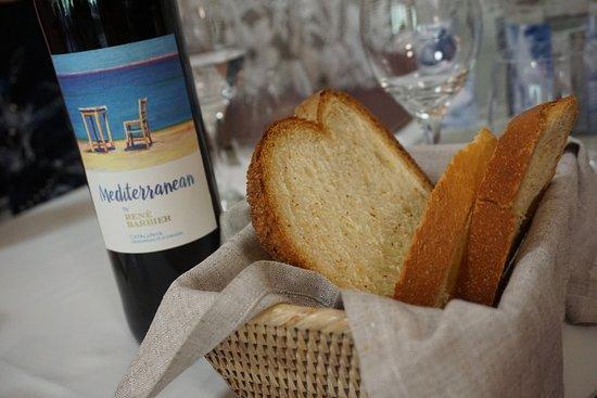 Restaurant Can Jepet: Vino de la casa