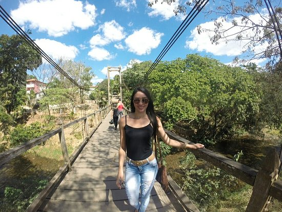 Dona Benta Suspension Bridge