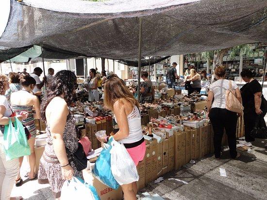 Tarragona, Spain: Schoenen voor spotprijzen.