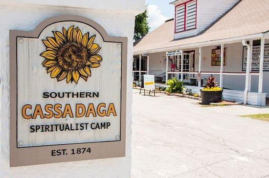 Cassadaga Spiritualist Camp Entrance