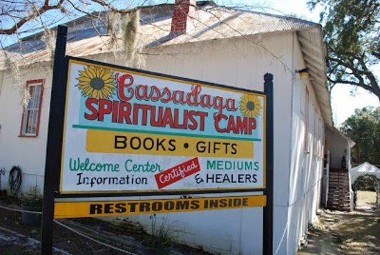 Cassadaga Spiritualist Camp: Cassadaga Spiritualist Camp Bookstore