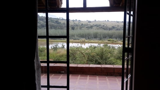 Hekpoort, Sudáfrica: View from patio