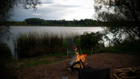 Laurel Creek Conservation Area : View from our campsite