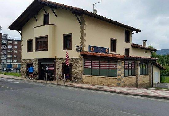 Lezama, Espagne : El restaurante