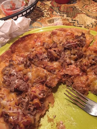 Tamaqua, PA: Mexican Cheese Steak Pizza