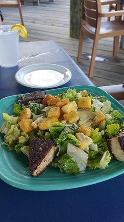 Frederica, DE: Fresh Romaine Caesar Salad $10.00 Crispy romaine lettuce with creamy Caesar.