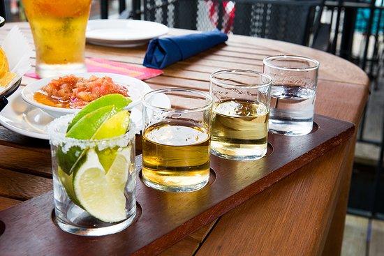 Tequila flights