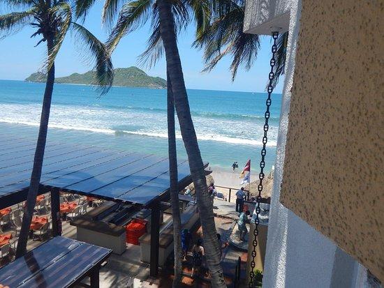 El Cid Castilla Beach Hotel: Tomada desde el balcón de la habitación 3093.