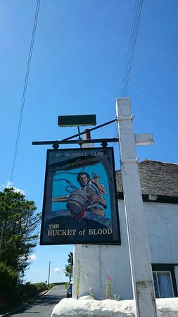 Special Burger - Picture of Bucket of Blood Pub, Hayle