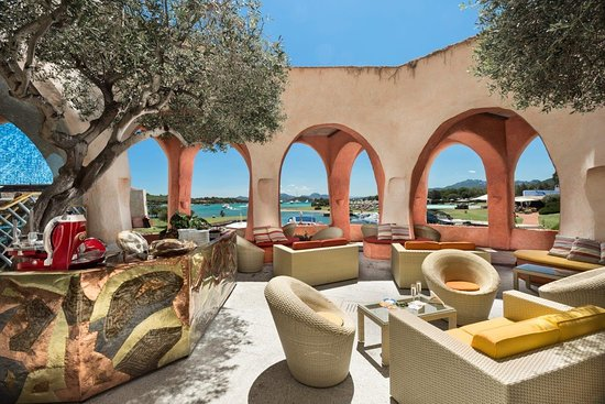 Hotel Cala di Volpe, a Luxury Collection Hotel : Atrium Bar