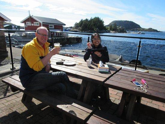 Korshamn, Norge: het voorterrein